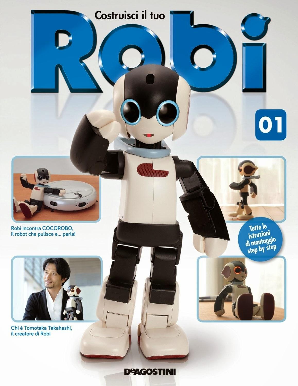 Costruisci il tuo Robi 1 robot costruire De Agostini  fascicoli comprare Edicola Amazon